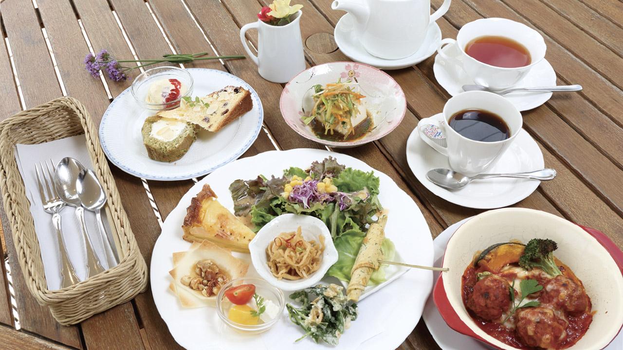 カフェSoraで人気の週替りランチ