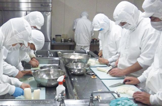 HACCP認定を受けた食品品質管理